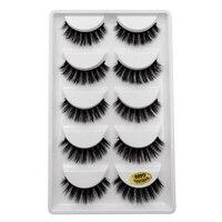 A lots of mink false eyelashes makeup 3d mink lashes natural long fake lashes