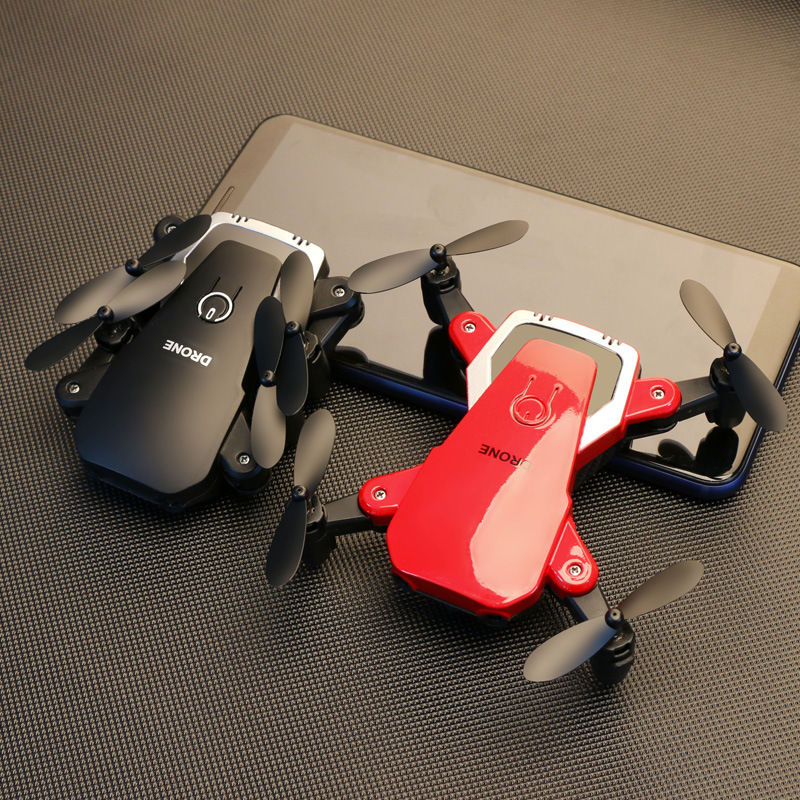 Drone Folding Unmanned Aerial Vehicle Set High Aerial Remote-control Aircraft Quadcopter Remote Control Model Plane