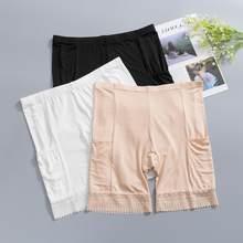 2019 sécurité Shorts pantalon grande taille sécurité pantalon boxer court sous jupe avec poches sécurité Shorts sous jupe cuisse frottement dentelle