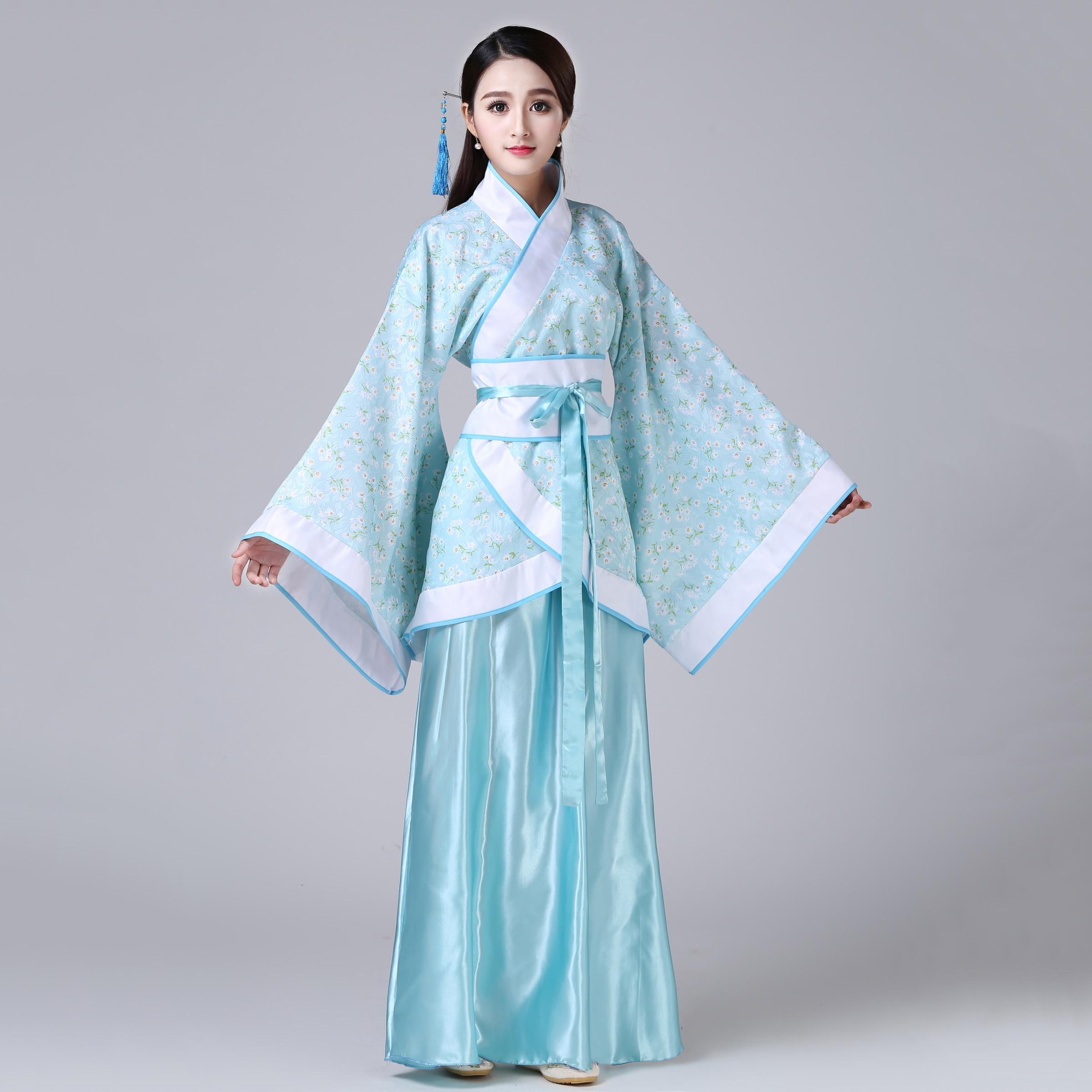 Traje de Año Nuevo chino antiguo para mujer, traje tradicional étnico, bailarina, trajes de fiesta