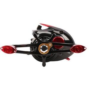 Image 4 - TSURINOYA 2 Spool Ultralight Baitcasting Fishing Reel XF 50 Weight Long Casting TROUT Reel Smooth Casting Reel