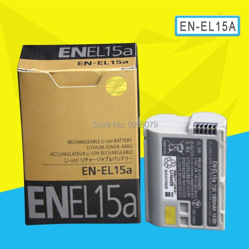 Nikon EN-EL15A 1900mAh Batería Recargable gris