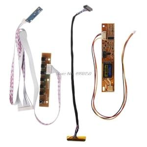 Image 5 - V56 V59 لوحة تحكم شاملة في التلفزيون الإل سي دي لوحة للقيادة DVB T2 التلفزيون مجلس 7 مفتاح التبديل IR 1 مصباح العاكس LVDS كابل عدة 3663 بالجملة دروبشيبينغ