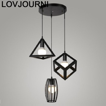 Verlichting תעשייתי דקור Decoracao Casa Para מטבח מנורת Lampara Colgante השעיה Luminaire לופט Luminaria Hanglamp