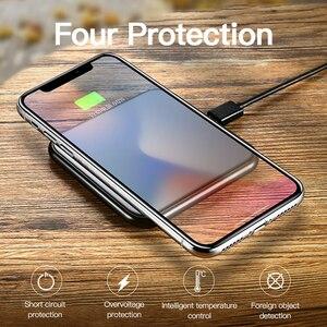 Image 5 - Benks אלומיניום סגסוגת צ י אלחוטי מטען 10W מהיר טעינה עבור סמסונג S10 S9 S9 + S8 7.5W עבור iphone 11 פרו מקס XS XR X IOS 11.2