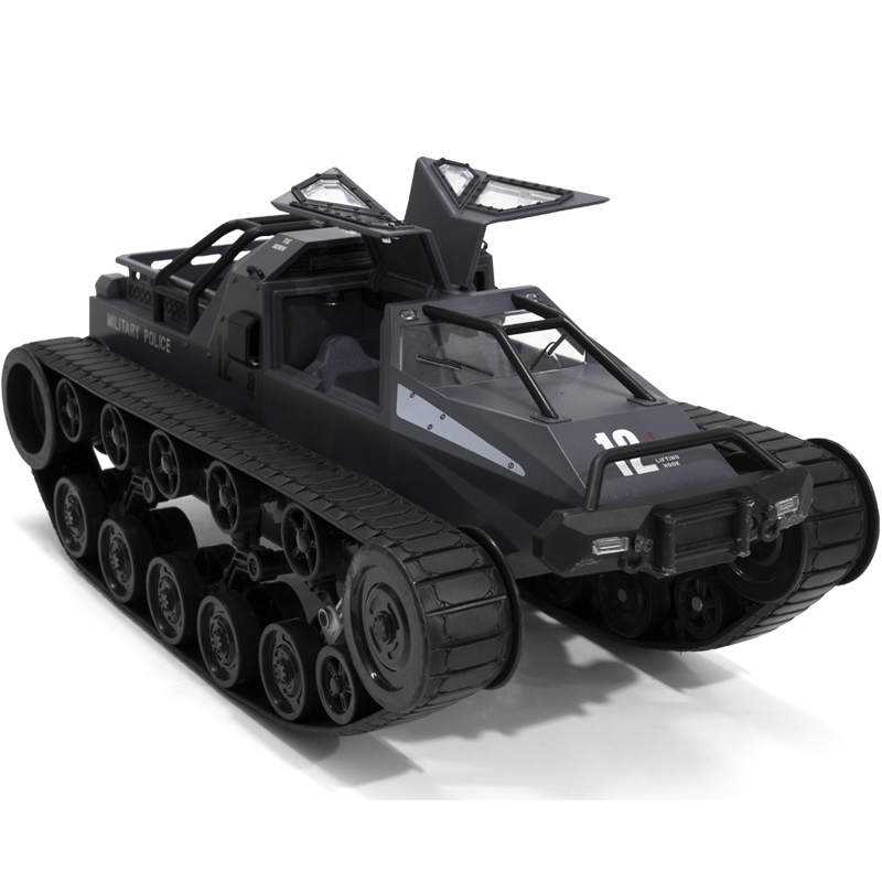 1:12 2.4G Remote Control High Speed Drift Coarse Tooth Saw Crawler RC Tank Electric Off-Road Chariot Model Toy Car Gift for Kids