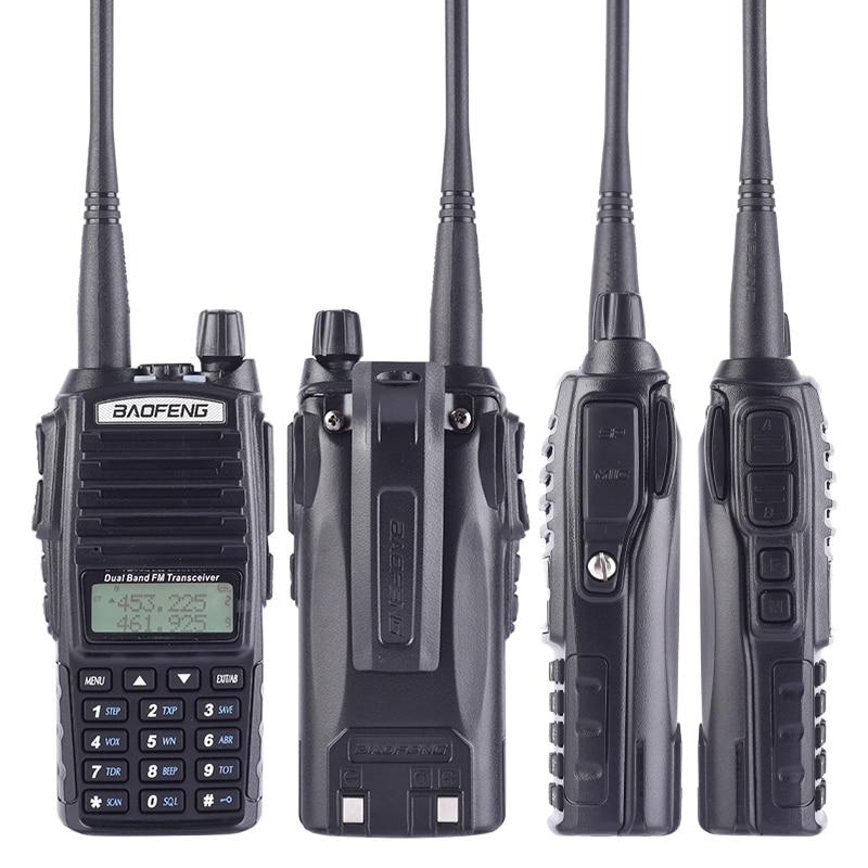 """מכונות כביסה ומייבשים Baofeng Ture 8W UV-82 פלוס 10 ק""""מ ארוך טווח עוצמה מכשיר הקשר Portable CB VHF / UHF שני הדרך רדיו אמאדור 8 וואט מקמ""""ש (3)"""