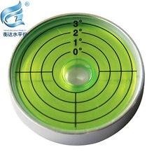Универсальный Уровень пузырьковый металлический уровень круговой