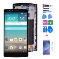 100% Tested Original For Lg G4 H815 H818 LCD Display with Touch Screen Digitizer Assembly With Frame Free shipping