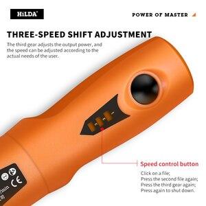 Image 5 - Мини дрель HILDA 3,6 В, беспроводной вращающийся инструмент с набором шлифовальных аксессуаров, многофункциональная мини гравировальная ручка для инструментов Dremel
