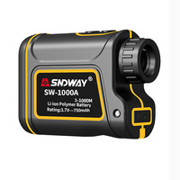 MODIKER 7X Measurement Range Finder Hunting Golf Rangefinder Speed Scanning Model IP54 Waterproof (600/1000/1500m)