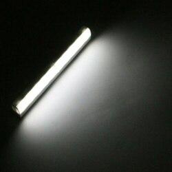Sensor Gerak Lemari Lampu Lemari Lampu LED Auto On/Off Penginderaan Lampu Portable Cordless Lampu Bar untuk Kabinet Tangga JDH