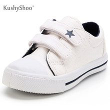 KushyShoo dziecięce trampki maluch dzieci chłopcy dziewczęta buty solidna gwiazda podwójny haczyk buty dla chłopców buty dziecięce maluch chłopiec buty