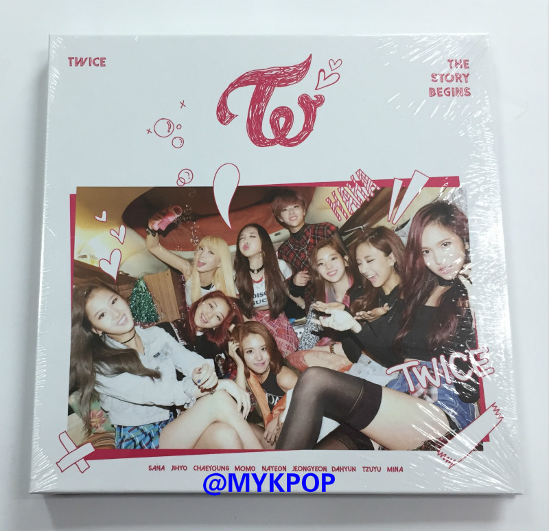 [MYKPOP]~100% OFFICIAL ORIGINAL~ TWICE MINI #1: THE STORY BEGINS  Album, KPOP Fans Collection - SA19091706
