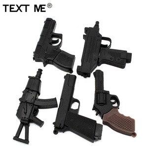 Image 1 - نص لي الكرتون 100% باسيتي الحقيقي 5 نموذج بندقية محرك فلاش usb usb 2.0 4 جيجابايت 8 جيجابايت 16 جيجابايت 32 جيجابايت بندريف 64 جيجابايت usb2.0