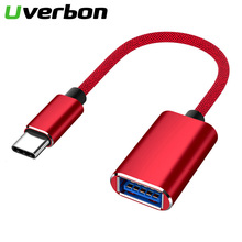 Type C to USB 3.0 OTG Cable USB C male to USB3.0 Female Converter USB C Data Sync Adapter Cable for Samsung Xiaomi Huawei P30