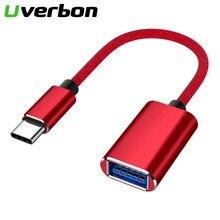 Type C vers USB 3.0 OTG câble USB C mâle vers USB3.0 femelle convertisseur USB C câble adaptateur de synchronisation de données pour Samsung Xiaomi Huawei P30