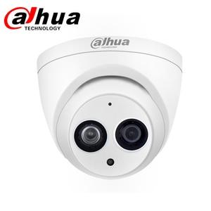 Image 2 - Cámara Dahua IP DH IPC HDW4433C A 4MP Cámara IP de red con cámara de luz de estrellas PoE HD Domo integrado Mic sistema de seguridad Onvif Cam