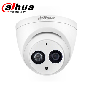 Image 2 - Dahua IP Camera DH IPC HDW4433C A 4MP Network IP Camera with PoE HD Starlight Camera Dome Built in Mic Security System Onvif Cam