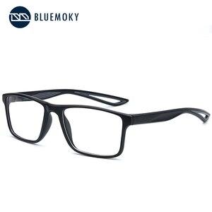 Image 5 - Bluemoky スポーツメガネフレーム男性のための光学近視眼鏡メガネ透明クリアメガネ男性眼鏡 2020