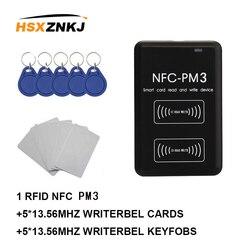 NFC PM3 RFID writer IC 13.56MHZ czytnik kart kopiarka powielacz pełna funkcja dekodowania