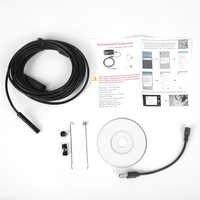 Outils de contrôle de Drain d'égout imperméables d'endoscope de caméra d'inspection de tuyau de plombier du royaume-uni