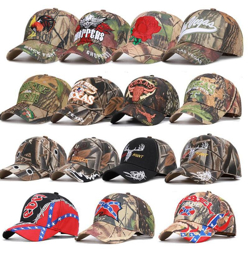 Free Shipping High Quality Realtree Camo Caps Camouflage Hunting Fishing Hiking Cap Tacticss Hats Cotton Tactics Caps