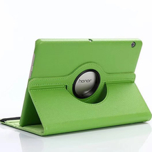 For Huawei Mediapad T3 10 Cover Case 360 Rotating Media Pad T 3 9.6 AGS-L09 AGS-W09 AGS L09 W09 Stand PU Leather Tablet Case eagwell 360 rotating case for huawei mediapad t3 10 9 6 litchi pu leather flip stand tablet cover skin for huawei t3 10 case