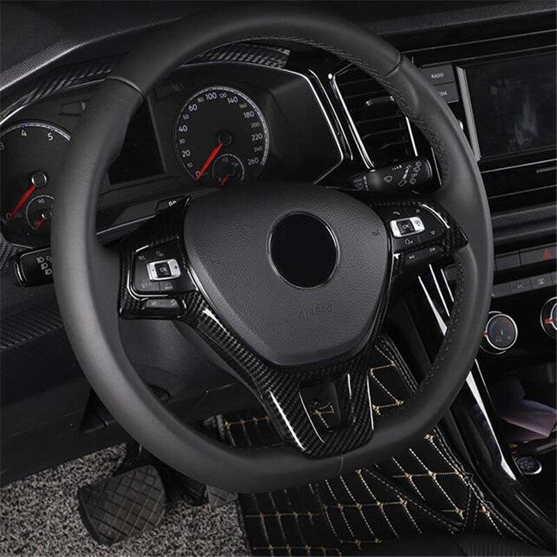 Автомобильные аксессуары, отделка рулевого колеса для Volkswagen Jetta Golf Sportsvan Golf 7 Polo Caddy Amarok Lavida Passat Tiguan Touran up!