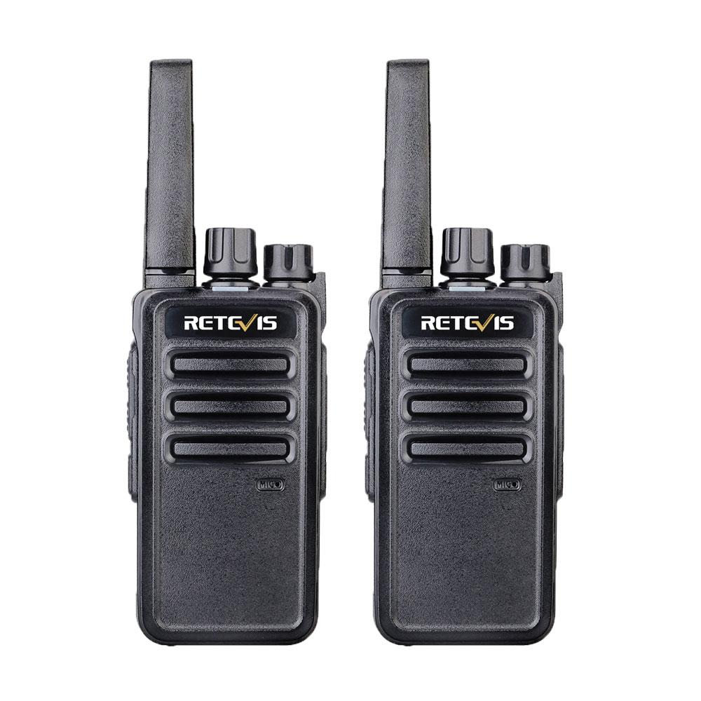 Retevis RT668 RT68 Walkie Talkie 2pcs PMR PMR446 FRS License-free Portable Two-Way Radio Radio Station Emergency Walkie Talkies
