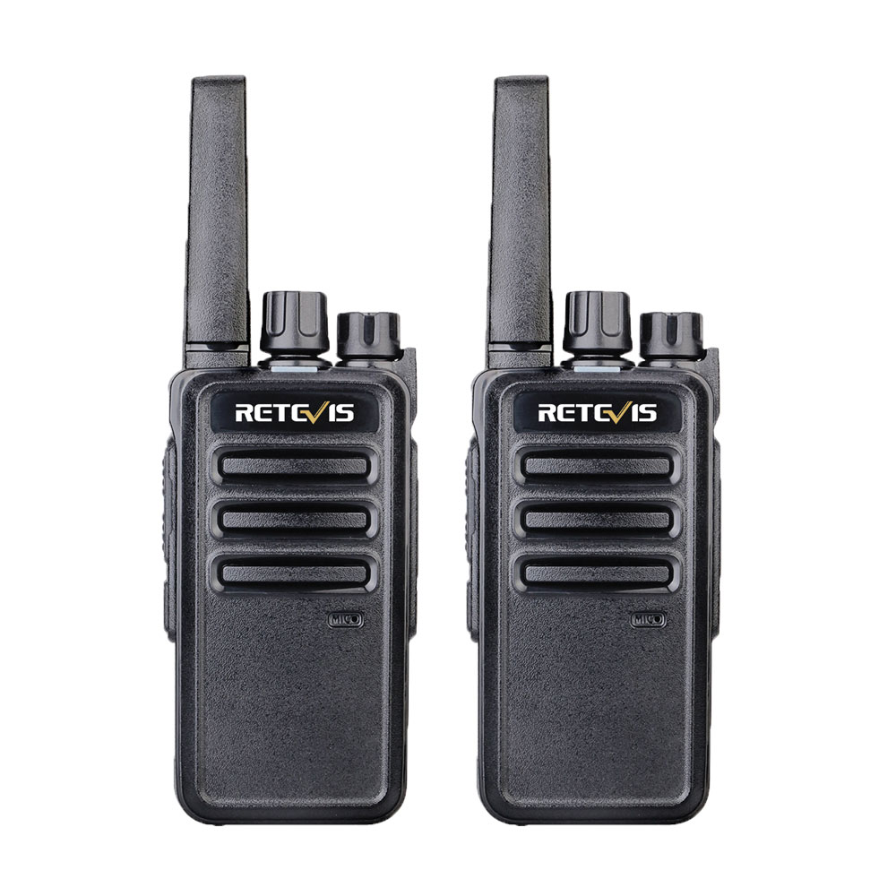 Retevis RT668 RT68 Walkie Talkie 2pcs PMR PMR446 FRS License-free Two-Way Radio Radio Station Hotel/Restaurant Walkie-Talkie