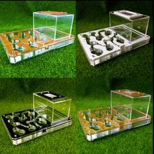 Nid fourmis, grande taille, 194x145x77MM, nouvelle ferme, Cages à insectes en acrylique, atelier, Villa pour animaux de compagnie