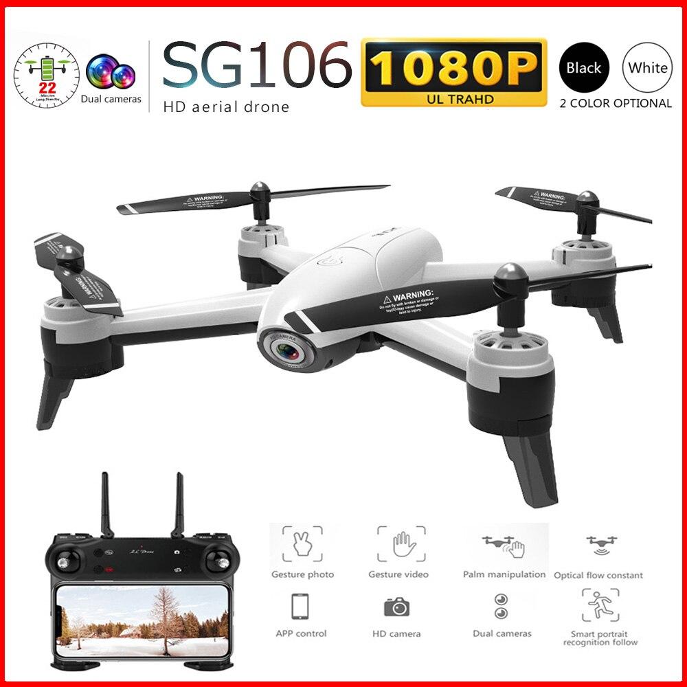 SG106 RC Drone 1080 P/720 P Double Cam4 CH Long bras pliable avec contrôle gestuel Dron WIFI transmission en temps opportun VS E58 H51-in Drones à caméra from Electronique    1