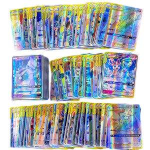 Image 2 - Pokemon fransız kart Lot sahip 200GX 100 etiketi takımı