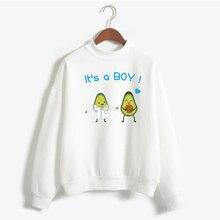 Avocado Women Graphic Pullover Aesthetic Sweatshirt 2020 New
