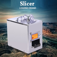 New Chinese Herbal Medicine Slicer Commercial Ginseng Ginseng Sanqi American Ginseng Cutting Machine Electric Stainless Steel