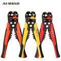 Wire Stripper pinza regolabile lunghezza di spellatura fili e cavi di taglio multi-funzionale di stripping terminale 0.2-6mm strumento