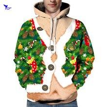 Рождество 3D печатные толстовки с капюшоном длдя паркура для мужчин/женщин осень уличная с капюшоном пуловеры Скейтбординг спортивная одежда толстовки Одежда