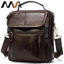 WESTAL – sac à bandoulière en cuir véritable pour homme, sacoche noire à fermeture éclair, grande couverture, 887