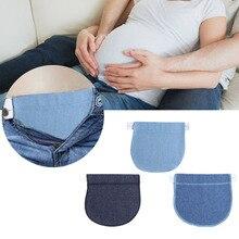 New Portable 3pcs/set Maternity Pregnancy Waistband Cotton Elastic Waist Extender Pregnant Soft Pants Belly Belt