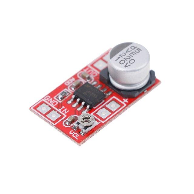 مكبر صوت ميكرو كهربائي 5 فولت-12 فولت تيار مستمر مكثف ميكروفون صغير مكبر صوت المجلس 3