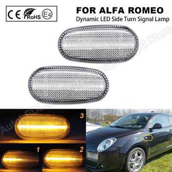 Luz LED de posición lateral para coche, luz intermitente de flecha de...