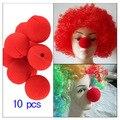 10 шт., большие губки, Красные Губки, шарики, нос клоуна, забавный реквизит для косплея, реквизит для магических трюков в носу клоуна, игрушка, ...
