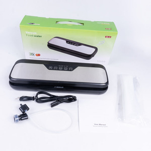 Image 5 - YTK ואקום אוטם הטוב ביותר באופן מלא אוטומטי נייד ביתי מזון רטוב יבש 220V110W אריזת מכונה איטום כולל 5Pcs שקיות משלוח