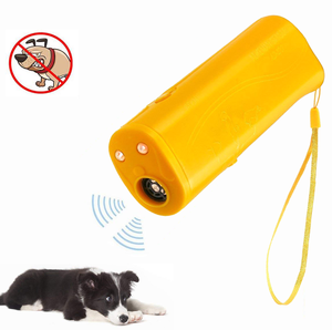3 in 1 Dog Anti Barking Device Ultrasonic Dog Repeller Stop Bark Control Training Supplies With LED Flashlight