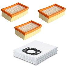 Запасные части для karcher мешки очистки фильтры wd4 wd5 wd6