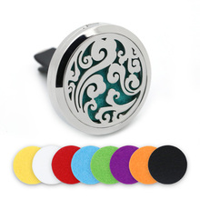 BOFEE 316L Stainless Steel Cloud Aroma Essential Oil Diffuser Locket Aromatherapy Vent Clip Vent Magnet Perfume Oil Jewelry 30mm bofee stainless steel magnet car essential oil diffuser locket aromatherapy perfume oil locket vent clip jewelry gift 30mm
