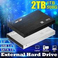 LEORY 2 5 Zoll Festplatte SATA 3 0 Externe High Speed Festplatte 1TB / 2TB USB 3 0 Festplatte Mobile Festplatte Geeignet-in Externe Festplatten aus Computer und Büro bei