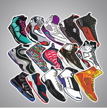 36 pcs pack non repeat notebook luggage bicycle box tide brand shoes graffiti waterproof stickers C