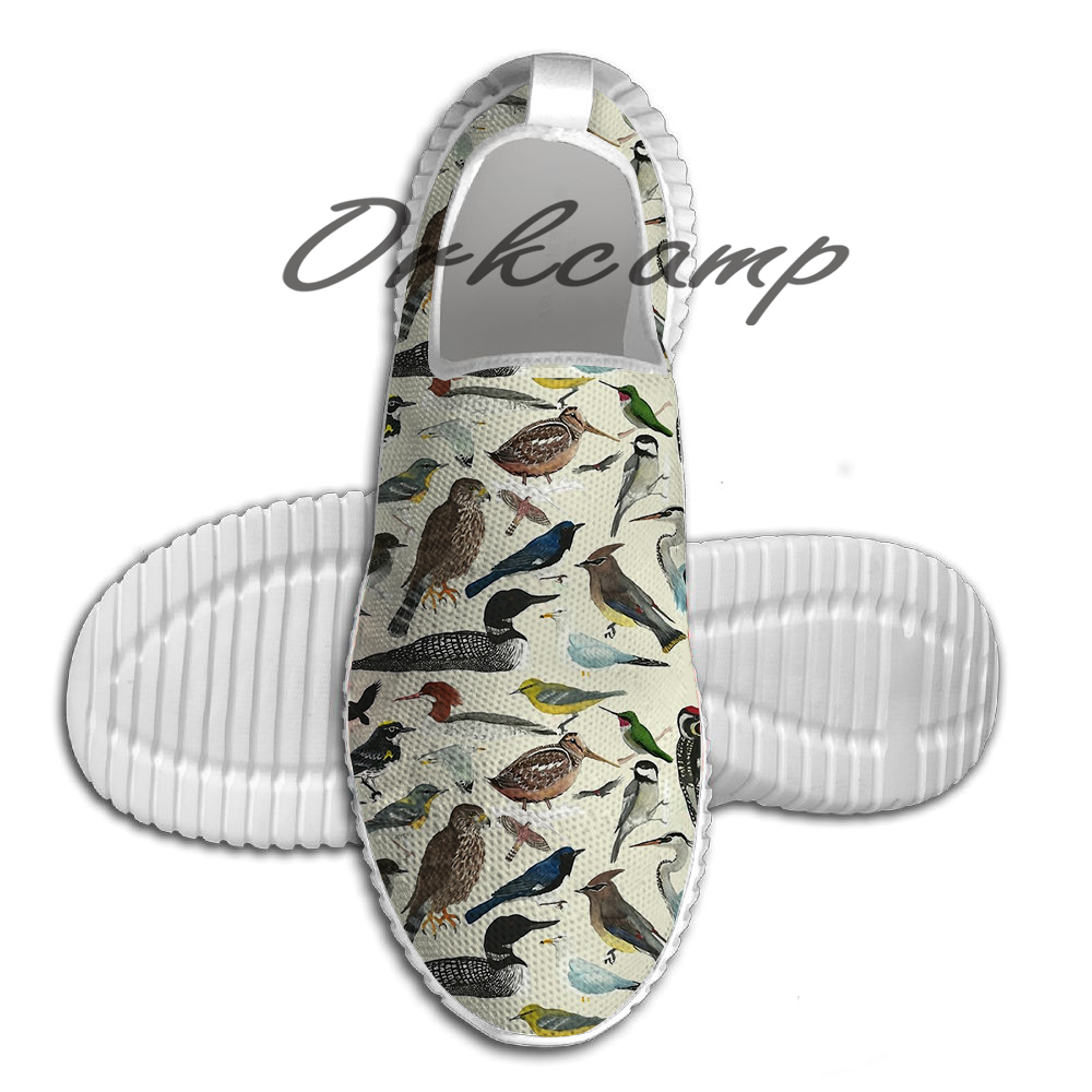 Bird Fanatic Light Weight Fashion Sports Running Shoes Walking Shoes Summer Comfortable Yuga Shoes